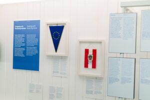 Das Haus der Geschichte Österreich nimmt derzeit Europa in den Fokus. Foto: Haus der Geschichte Österreich