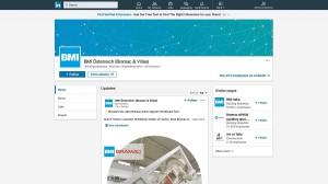 BMI Gruppe LinkedIn liefert mehr Infos für private Bauherren und professionelle Dienstleister. Copyright: BMI Gruppe