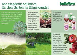 Empfehlung von bellaflora für den Garten im Klimawandel. Foto: bellaflora