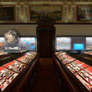Blick in den Meteoritensaal im NHM Wien. Foto: NHM Wien, Kurt Kracher