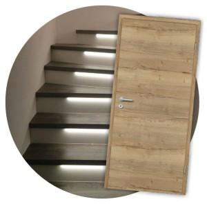 Von Stiegen-, Treppenverkleidung-, Türen- und Wohnraum- ...