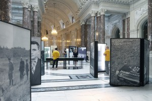 Blick in die Ausstellung: Foto: HdGÖ