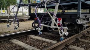 Die ÖBB färben Streckenabschnitte in Vorarlberg weiß ein ...