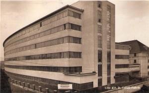 """Blick auf die """"Österreichische Tabakregie"""", im Linzer Volksmund auch liebevoll """"Tschickbude"""" genannt, im Jahre 1935. Foto: oepb"""