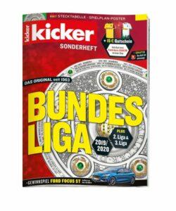 Bundesliga Sonderheft_Kicker_2019_20_Olmypia Verlag_Bild kicker
