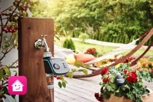 Mit dem Update der Magenta Smart Home App auf Version 5.3.0 für Android und iOS wird jetzt auch das GARDENA smart system integriert. Konkret lassen sich die Bewässerungssteuerungen smart Water Control, smart Irrigation Control, der smart Sensor und die Außensteckdose smart Power einbinden und steuern. Foto: GARDENA