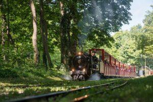 Seit über 100 Jahren tuckert die Liliputbahn durch den Wiener Prater. Foto: ÖBB / Wegscheider