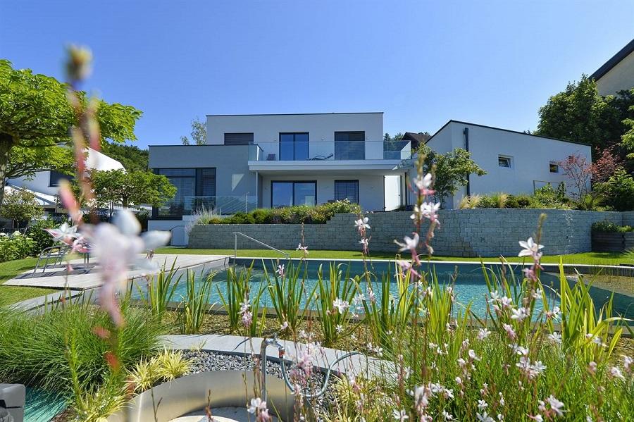 Lagune wien griffner blaue Haus bauen