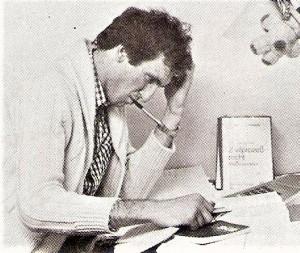 Bereits sehr früh widmete sich Manfred Mertel seinem Studium. Um allerdings den Kopf auch wieder frei zu bekommen ...