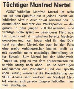 Faksimile Kremstal-Bote vom 5. Mai 1983, verfasst von Chefredakteur Erwin H. Aglas. Sammlung: oepb