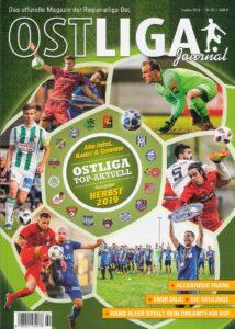 Cover OSTLIGA Journal Nr. 26 vom Herbst 2019. Foto: oepb