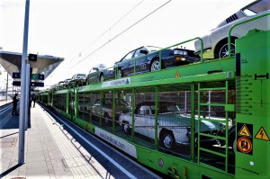Die Kooperation zwischen Classic Car Auctions, der Messe Wels und der ÖBB RCG machte dies möglich. Foto: ÖBB / Georg Stark