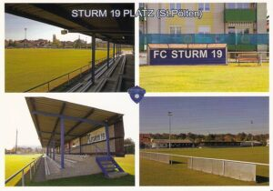 Stadion-Postkarte aus dem Jahr 2012. Sturm 19-Platz-Impressionen zu St. Pölten. Foto: www.berndspeta.at