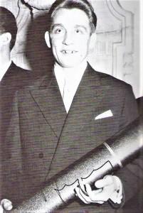 Im April 1956 promovierte Walter Schleger an der Universität Wien. Foto: Walter Schleger / oepb