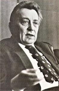 Univ.-Prof. Dr. Walter Schleger anlässlich seines 50. Geburtstages im Jahre 1979 anhand eines oepb-Interviews. Foto: oepb