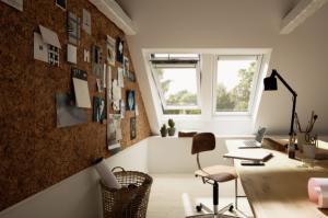Ob im Büro von 9 bis 18 Uhr oder doch lieber im Homeoffice – ein gesundes und einladendes Arbeitsumfeld ist das A und O für die Produktivität und Kreativität der Mitarbeitenden. Tageslicht spielt hier eine wesentliche Rolle. Foto: VELUX