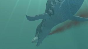 Der Hai hatte - dem Vernehmen nach - keine Chance. Der Pliosaurier-Hunger scheint gestillt. Foto: Lukeneder NHMW by 7reasons