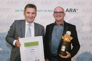 Werner Knausz (ARA, links), sowie Gerhard Lusser (AWV Osttirol). Foto: ARA / Ines Bacher