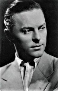 Kammerschauspieler Hans Holt im Jahre 1950. Foto: ÖNB