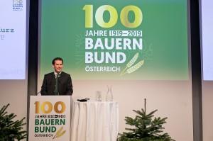 ÖVP-Bundesparteiobmann Sebastian Kurz anlässlich seiner Festrede. Foto © Harald Klemm