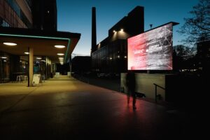 Ein abendlicher Blick in die Linzer Tabakfabrik im Jahre 2019. Foto: vog.photo