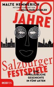 Cover 100 Jahre Salzburger Festspiele