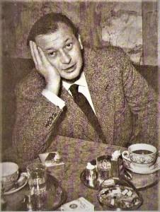 Der unvergessene weil unvergleichliche Friedrich Torberg in einem Wiener Kaffeehaus. Foto: privat / oepb