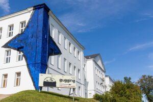 Blick auf das Museum Gugging. Foto: Ludwig Schedl