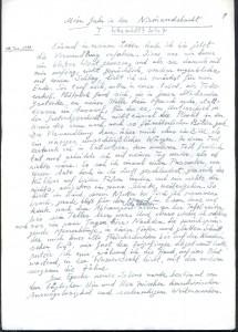 """""""Mein Jahr in der Niemandsbucht"""", Bleistift-Manuskript, 1994. Sammlung: © Österreichische Nationalbibliothek"""