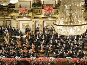 Der alljährliche musikalische Gruß aus Wien für die Welt findet traditionell am 1. Jänner statt. Und das zum zwischenzeitlich 80. Mal. Foto: Wiener Philharmoniker