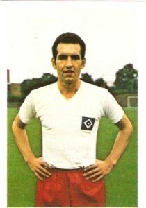 Norbert Hof 1969/70 im Dress des Hamburger Sport-Vereins. Sammlung: oepb