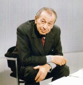 Friedrich Torberg im ORF-Studio in den 1970er Jahren. Foto: ORF