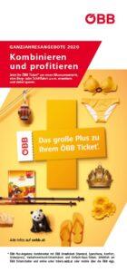Knapp 50 Freizeitangebote der neuen ÖBB Plus-Angebote 2020 sind flexibel kombinierbar. Foto: ÖBB