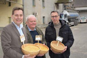 Von links: Matthias Krön, Hubert Großschedl, Georg Strasser. Foto: © Bauernbund / Rieberer