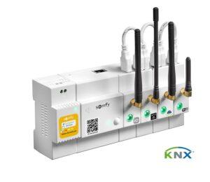 KNX-Standard und Smart-Home-Welt von Somfy verschmelzen. Foto: © Somfy