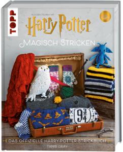 Harry Potter: Magisch Stricken. Buch-Cover. Foto: frechverlag, Copyright © Warner Bros, Entertainment inc. Harry Potter; Copyright © 2020 Warner Bros. Entertainment Inc. HARRY POTTER characters, names and related indicia are © & ™ Warner Bros. Entertainment Inc. WB SHIELD: © & ™ WBEI. WIZARDING WORLD trademark and logo © & ™ Warner Bros. Entertainment Inc. Publishing Rights © JKR. (s20) Alle Rechte vorbehalten.