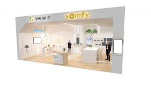 Somfy auf der Light + Building 2020 im deutschen Frankfurt am Main. Foto: © Somfy