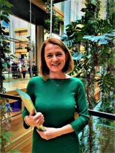 """""""Österreich geht mit gutem Beispiel in Sachen Umweltschutz, Bergbauern, starke Frauen und dynamischer ländlicher Raum voran."""", so die ÖVP-Europaabgeordnete und EU-Agrarsprecherin Simone Schmiedtbauer. Foto: Zwatz"""