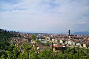 Blick vom Piazzale Michelangelo auf Florenz. Foto: © oepb