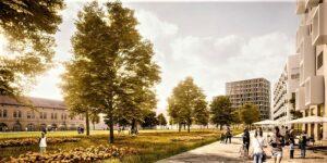 Die ÖBB und Stadt Wien haben heute das neue Stadtentwicklungsprojekt Neues Landguts vorgestellt. Foto: © ÖBB estudio elgozo