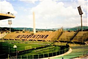 Seit 9. März 2020 pausiert die Serie A in Italien. Blick ins Stadio Artemio Franchi, der Heimstätte des AC Florenz. Österreich spielte hier im Rahmen der Fußball-Weltmeisterschaft 1990 gegen die Tschechen (0 : 1), sowie die USA (2 : 1). Foto © oepb