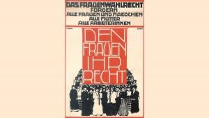 Grafik: Marinne Saxl-Deutsch, 1912, VGA Wien. © Haus der Geschichte Österreich