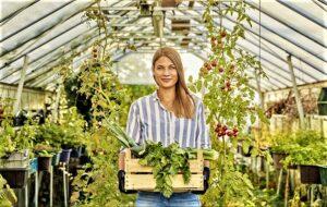Aufgrund ihrer starken Verbindung zur Natur haben Gärtnerinnen ...