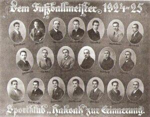 Fritz Löhner-Beda war als Gründungsmitglied beim ruhmreichen Aufstieg des SC Hakoah Wien von Anfang an dabei. Bildquelle: Kein Land des Lächelns / Scan oepb