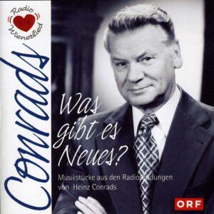 CD Cover Heinz Conrads - Was gibt es Neues.
