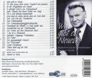 CD Heinz Conrads - Was gibt es Neues. Aus dem Inhalt.