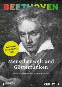 Die Beethoven-Ausstellung in der ÖNB wird bis ins kommende Jahr hinein verlängert. Foto: © Österreichische Nationalbibliothek