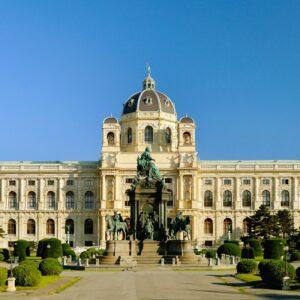 Blick auf das NHM / Naturhistorisches Museum Wien. Foto: © NHM Wien, Kurt Kracher