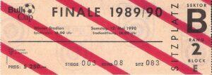 Anbei die Eintrittskarte von damals. Sammlung: oepb