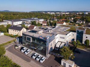 Blick auf die VALETTA Firmenzentrale in Linz. Foto: © VALETTA